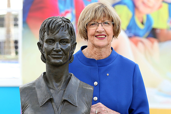 Article image for Margaret Court demands same respect as Rod Laver