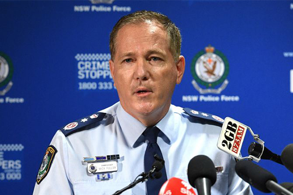 Crime will increase if young people don't 'fear' police: Commissioner Mick Fuller