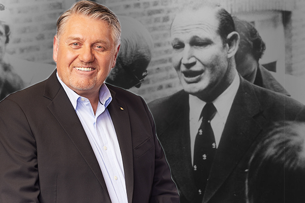 Article image for Ray Hadley's extraordinary encounter with Kerry Packer