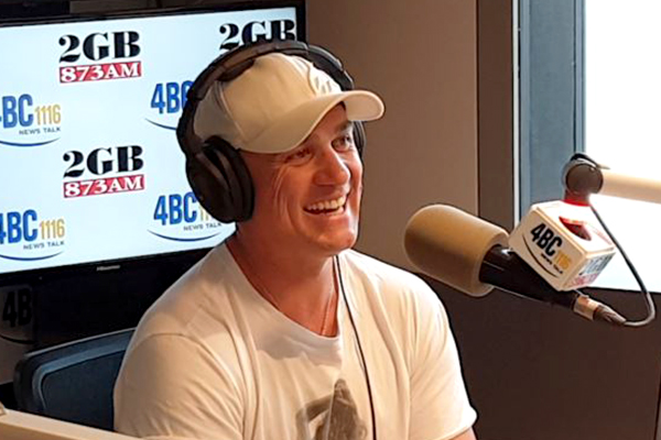 Shannon Noll joins Ray Hadley live in-studio