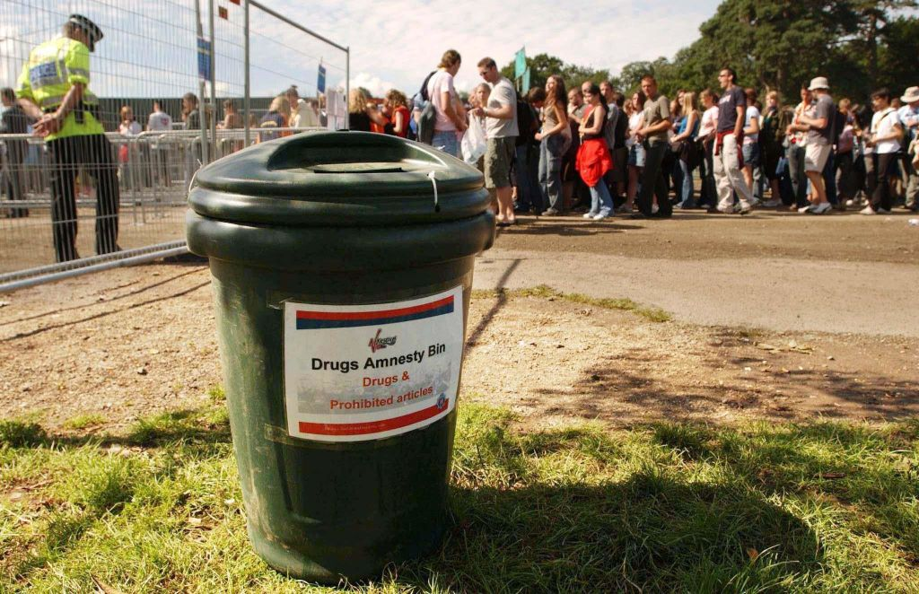 Article image for Drug amnesty bins to be introduced at NSW music festivals