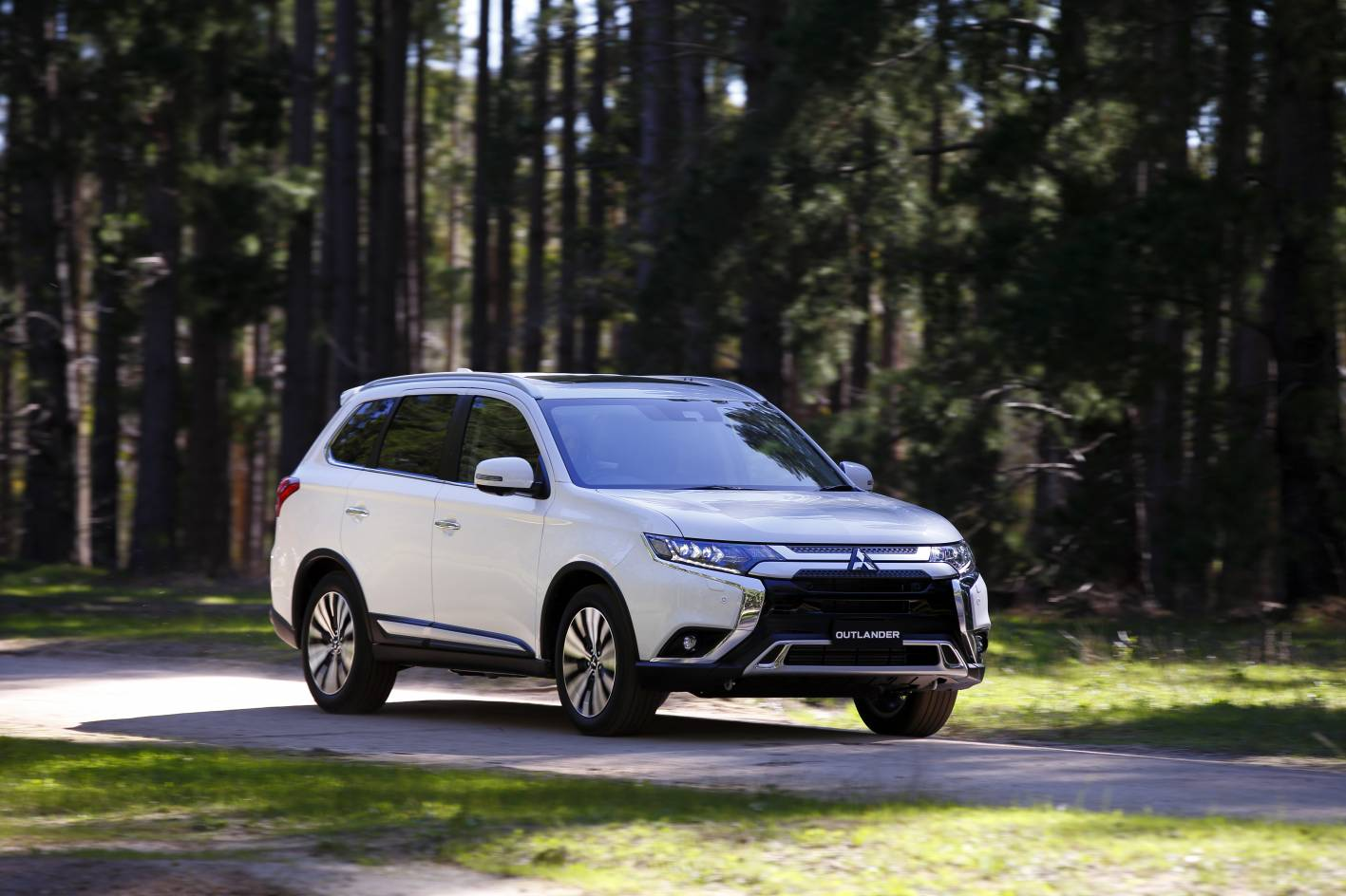 Mitsubishi's Outlander SUV – around for a long time but remains the fifth best-selling medium SUV.