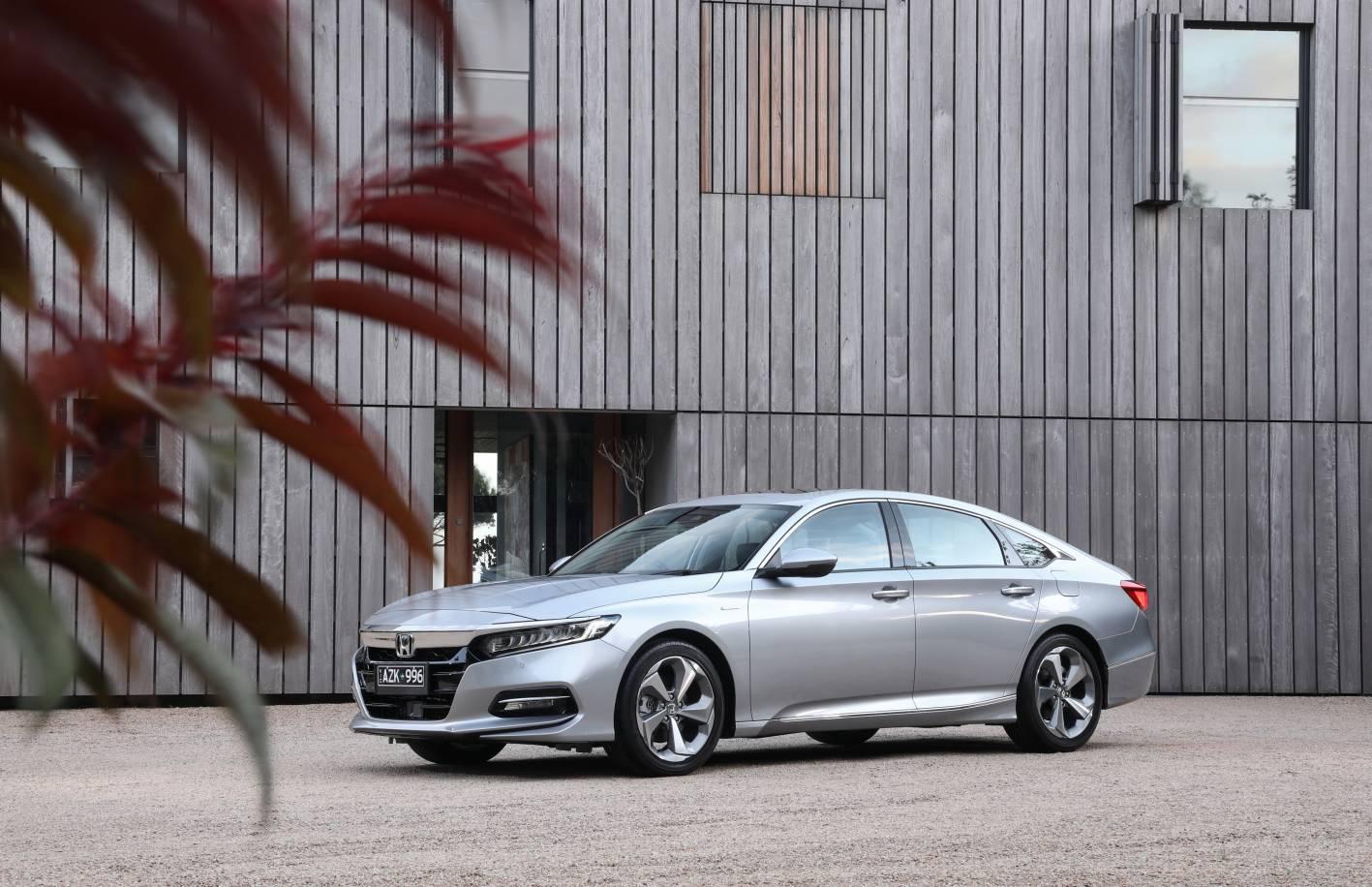 Honda's 10th generation Accord sedan soon to arrive in showrooms.