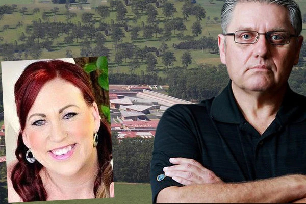 Article image for Prison guard escapes jail over relationship with cop-killer