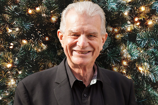 Delta Goodrem's surprise for Rev. Bill Crews
