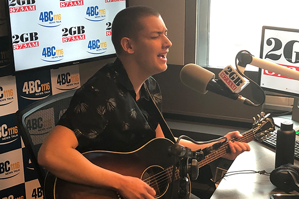 Golden Guitar nominee Angus Gill performs live in-studio