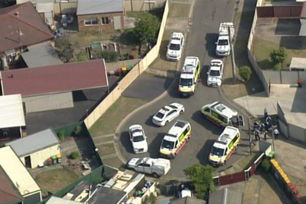 Article image for Two killed in suspected axe attack in Sydney street