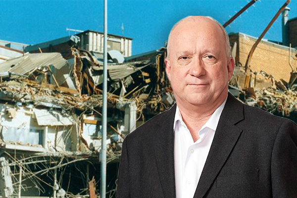 Article image for Warren Moore reflects on covering the Newcastle earthquake 30 years ago