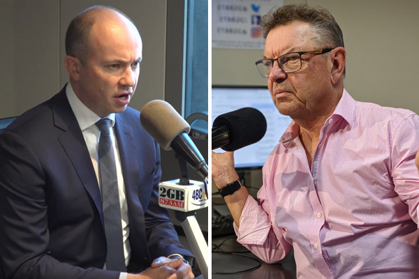 Steve Price and Matt Kean go head-to-head on climate change