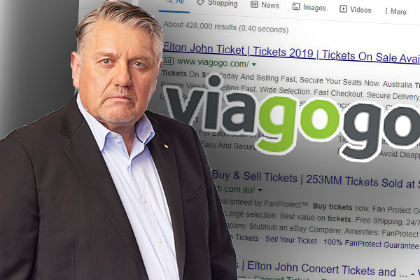 Article image for 'Mob of thieves!': Ray Hadley furious at latest Viagogo scam