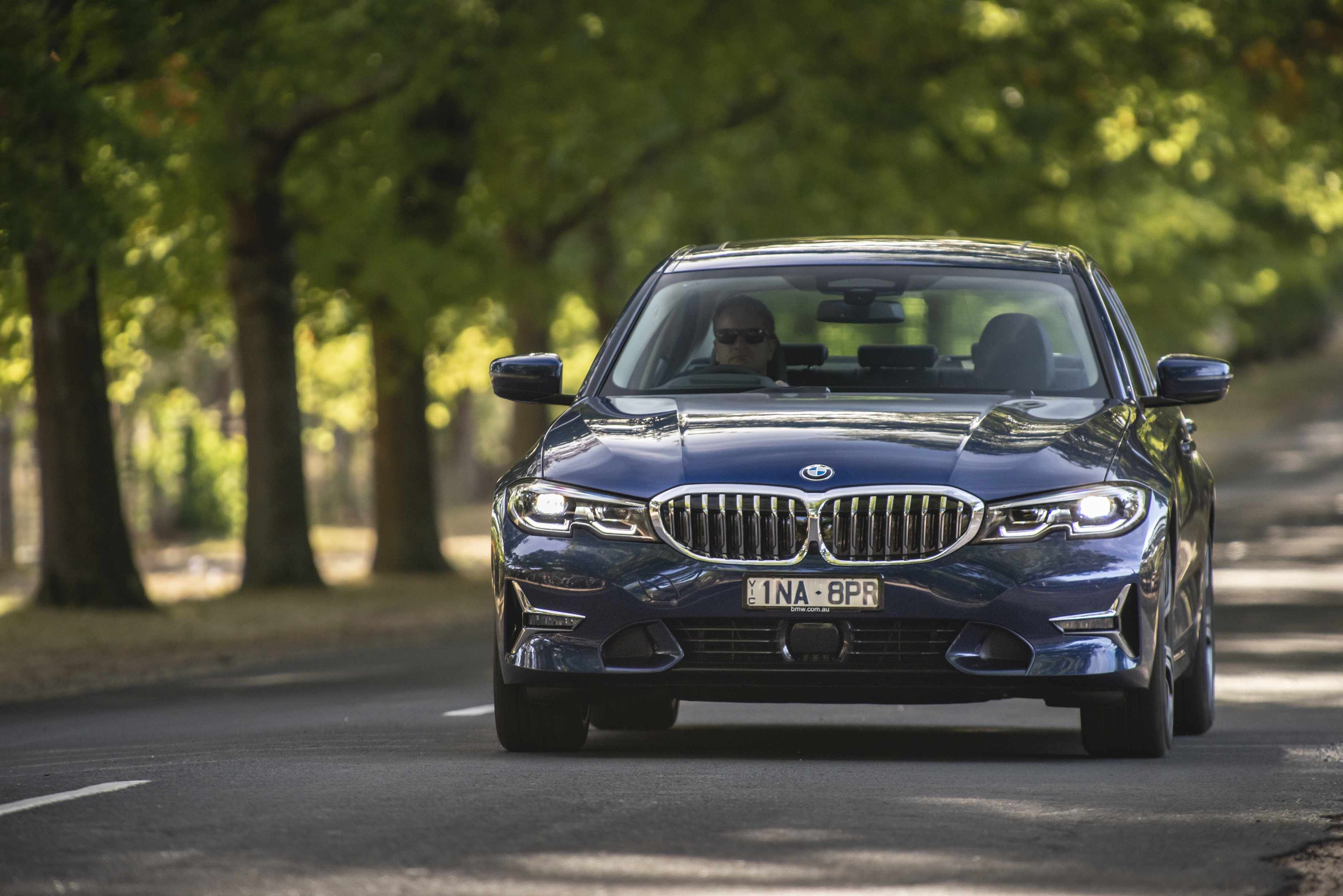 BMW latest generation 330i sedan – much improved but with a sporty ride