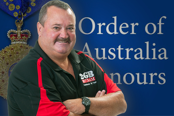 Article image for Ray Hadley congratulates friend and colleague Darryl Brohman on Australia Day honour