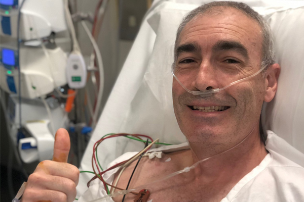 Article image for Yellow Wiggle Greg Page has spoken to the off-duty nurse who saved his life