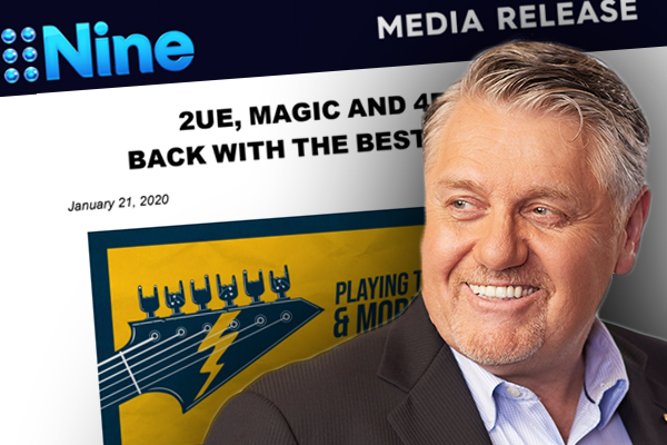 Article image for Ray Hadley hints at return to 2UE after station relaunched