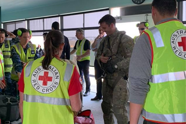 Article image for Red Cross hits back at claims it's withholding donations from bushfire victims