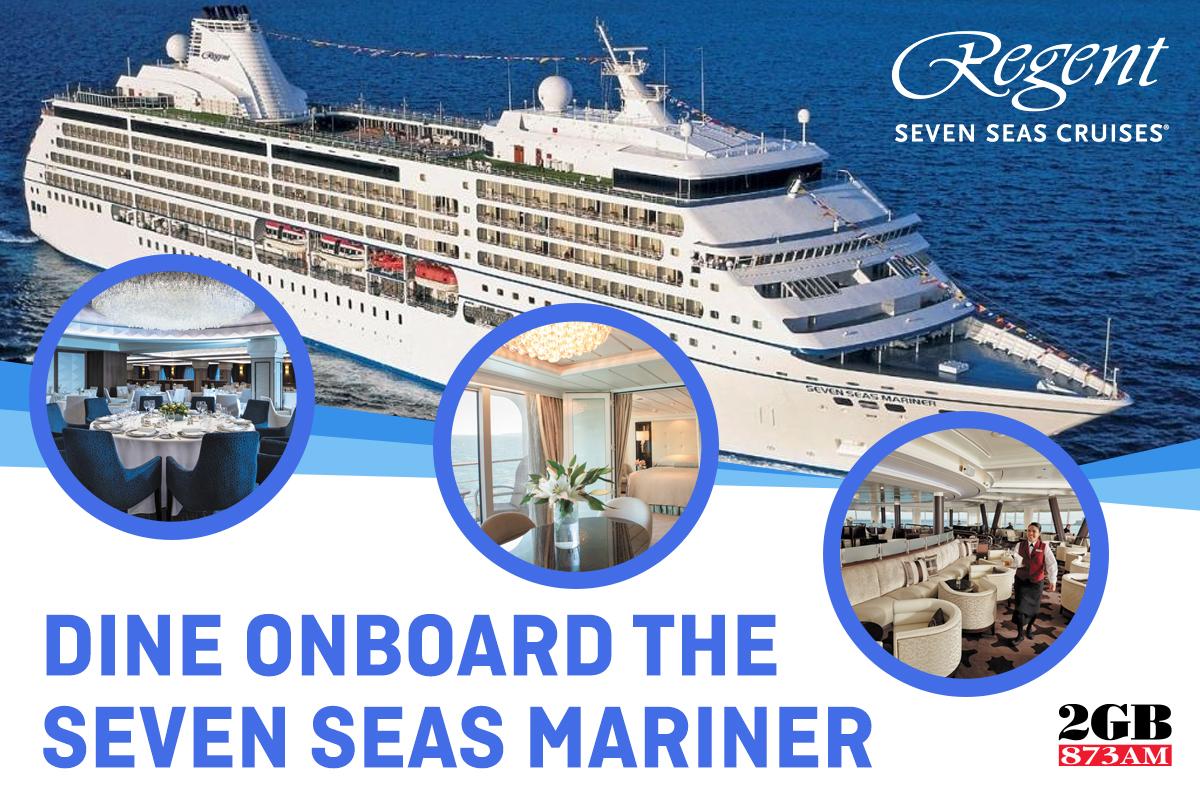 Dine onboard Seven Seas Mariner