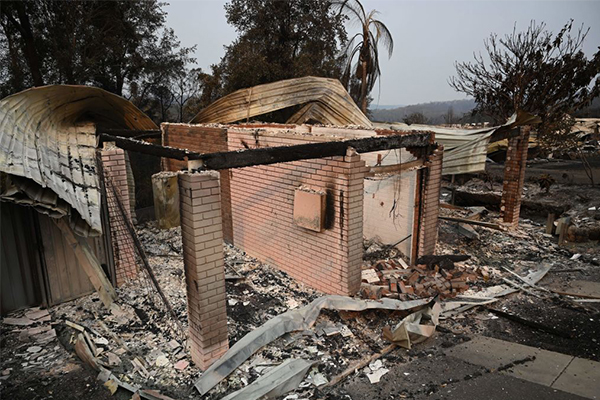 Article image for 'My heart is breaking': South Coast MP tears up describing 'utter devastation' of bushfires