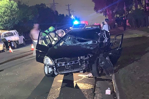 Article image for Listener sent Ray Hadley photo of drink-driving crash