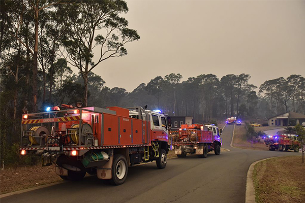 Article image for GET OUT | Tourists urged to leave NSW South Coast ahead of extreme fire danger