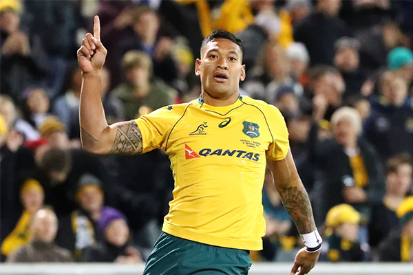 Israel Folau joins French rugby league club