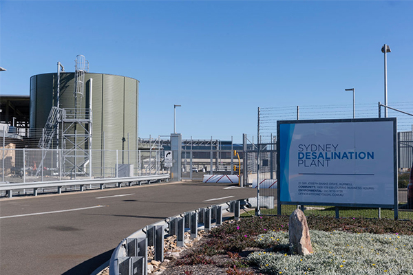 Sydney's desalination plant could be doubled in size as drought worsens