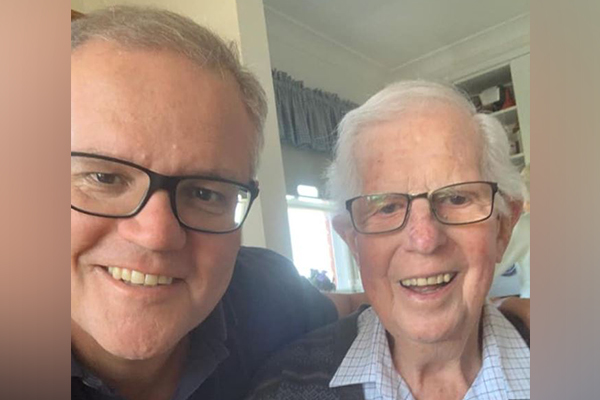 Article image for Ben Fordham pays tribute to Scott Morrison's father, John