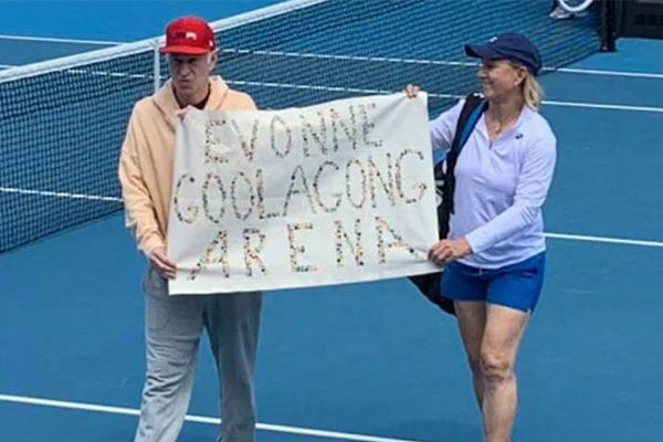 Margaret Court's own family have their say about on-court protest