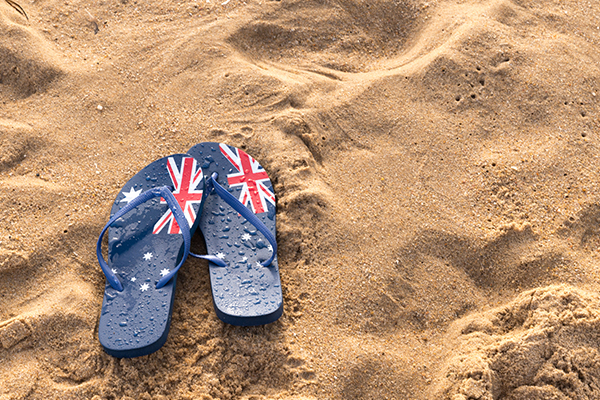 Article image for 'Nanny state nonsense': Thongs banned at Australia Day citizenship ceremonies