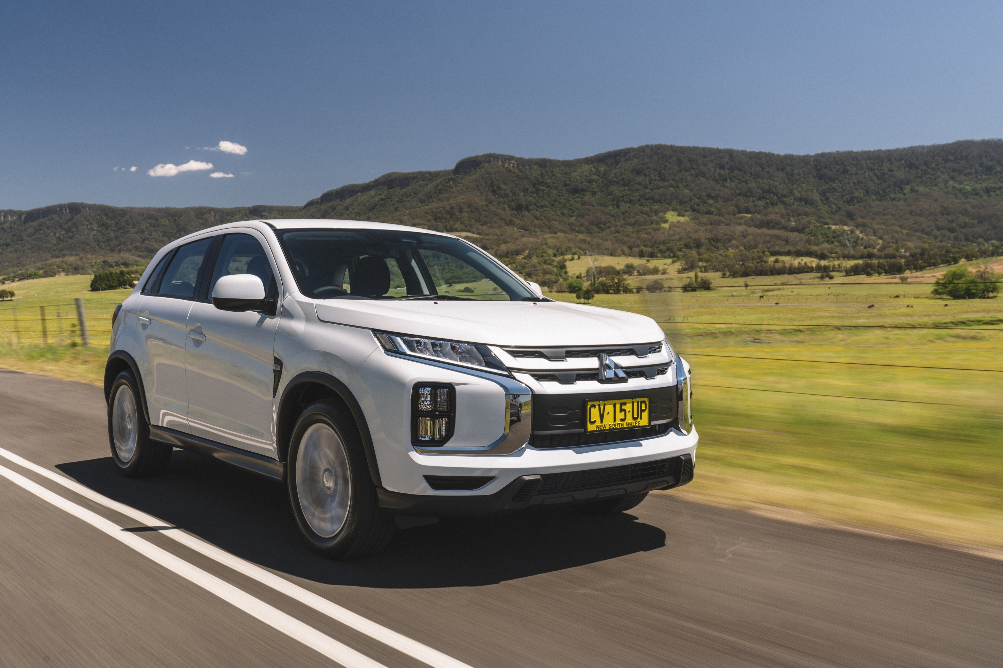Mitsubishi's top-selling SUV under $40,000 – the ASX, recently upgraded.