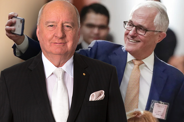 'We've had a gutful of you': Alan Jones' scathing message for Malcolm