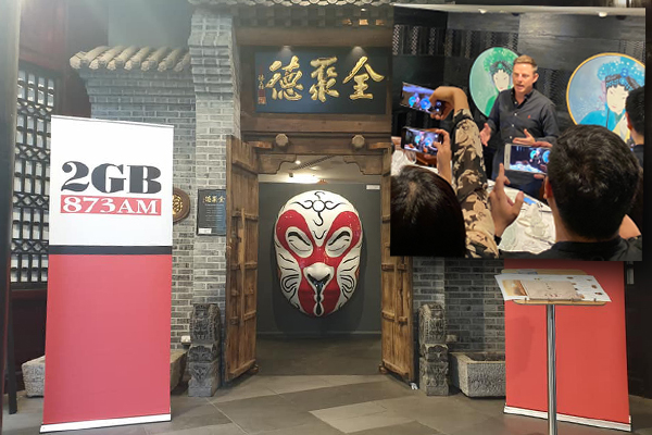 Article image for Ben Fordham and friends breathe life back into Chinatown