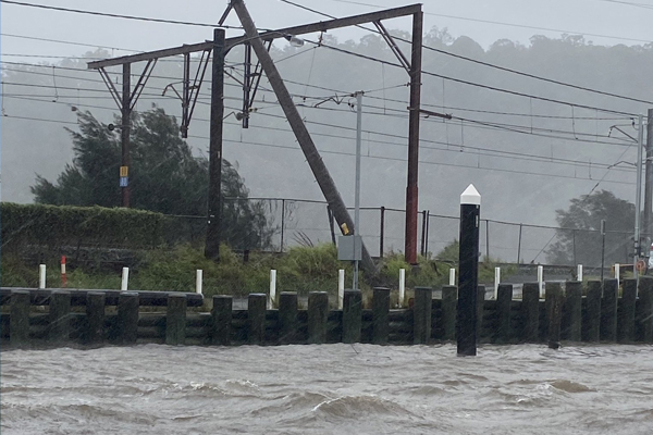 Article image for GALLERY | Photos of flash flooding across NSW