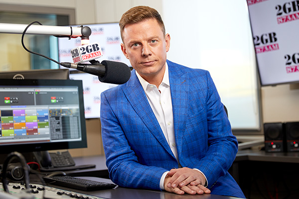 Article image for Ben Fordham targeted by dodgy scam