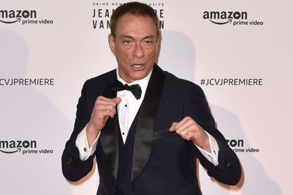 Hollywood superstar Jean-Claude van Damme chats with Alan Jones