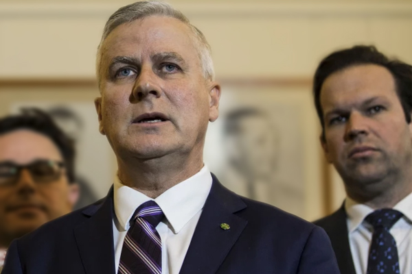 Article image for 'It's nothing personal': Nationals Minister reveals why he's turning on leader Michael McCormack
