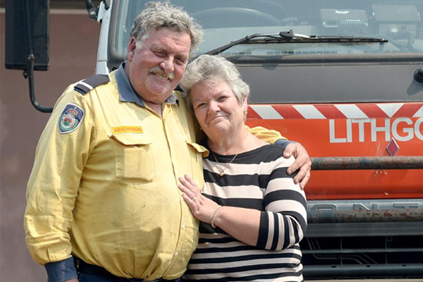 Hero firefighter 'still shell-shocked' after watching his own home burn down
