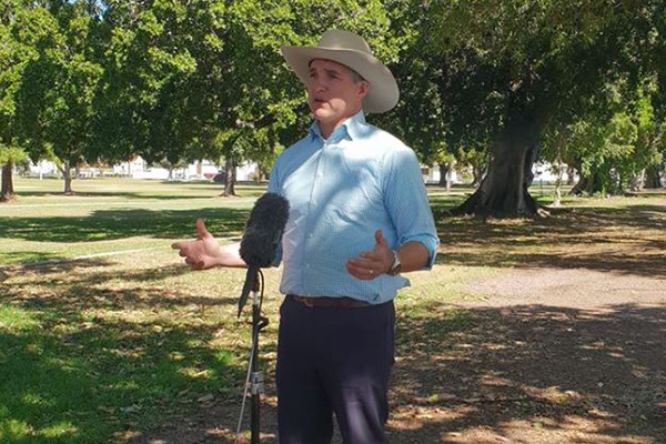 Robbie Katter says 'street fighters of Queensland politics' ready for the national stage