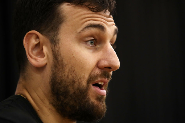 Article image for Andrew Bogut points the finger at NBL for mishandling the finals