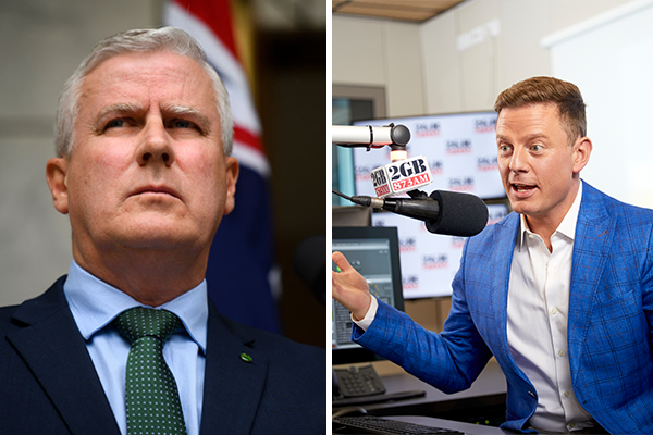 Article image for 'A gold medalist in the boring department': Ben Fordham hits out at deputy PM