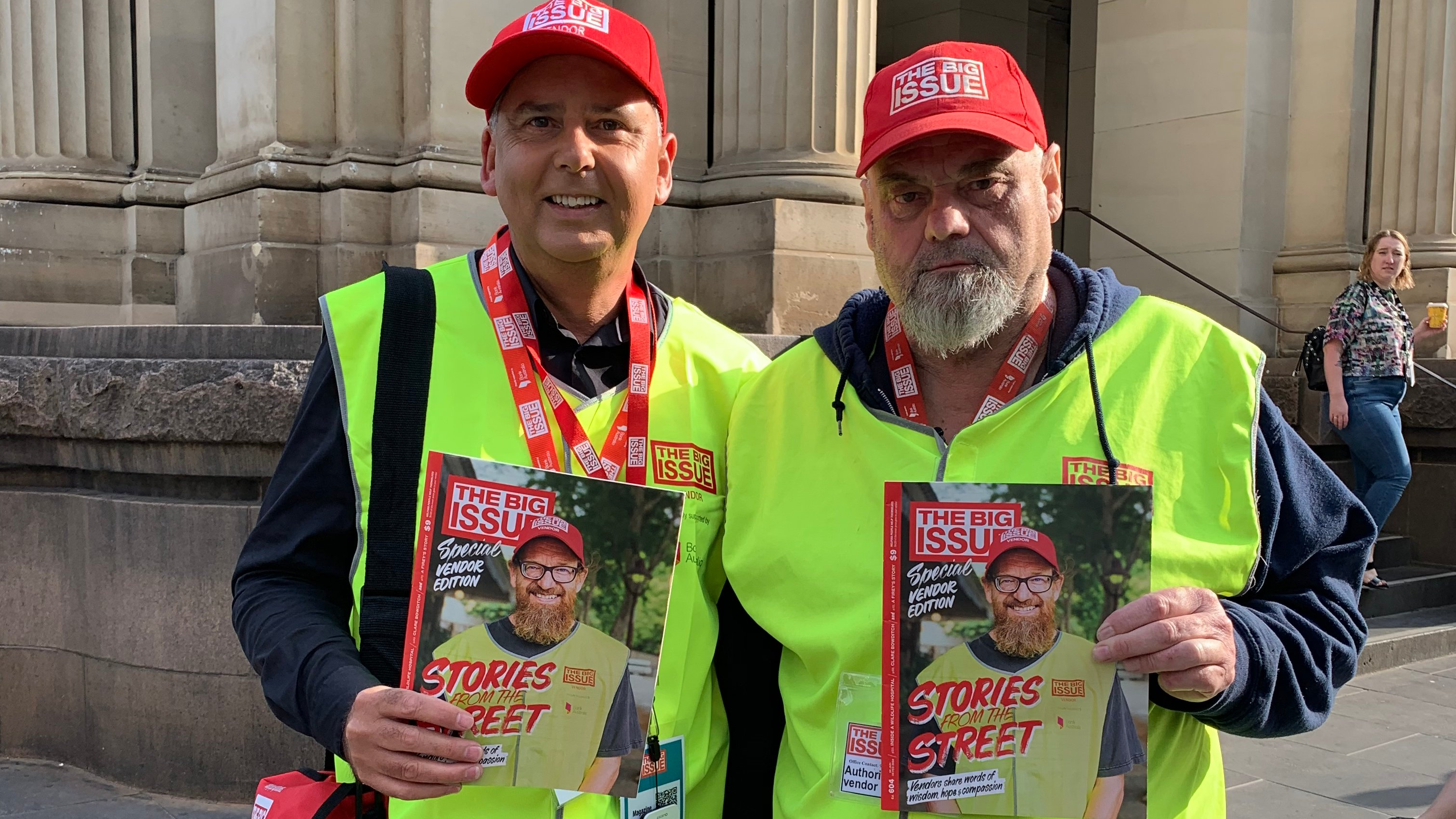 CEOs hit the streets for The Big Issue's 'Vendor Week'