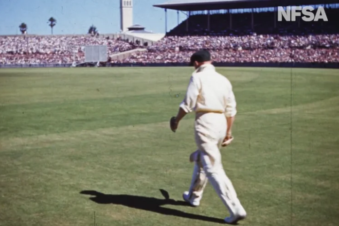 Article image for WATCH: Rare colour footage of Sir Don Bradman