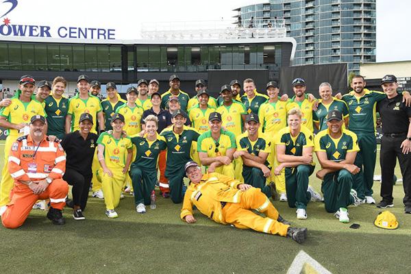 Article image for Cricket Australia boss 'humbled' by Bushfire Cricket Bash