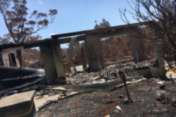 Rate relief finally announced for bushfire victims