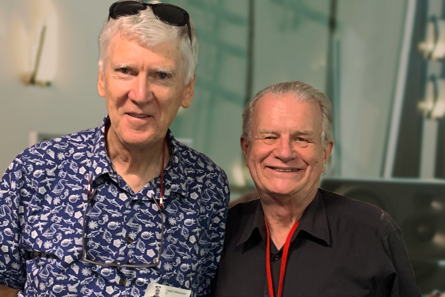 David Williamson & Rev. Bill Crews