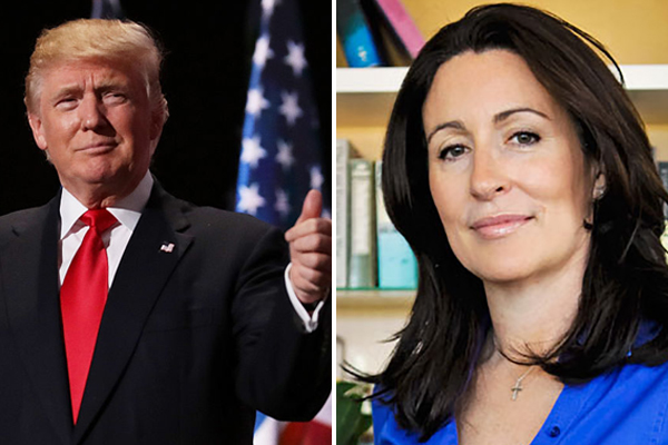 Article image for Miranda Devine reacts after Donald Trump praises her on Twitter