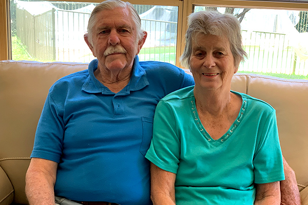 Article image for Ray Hadley's gigantic surprise for couple's 48th wedding anniversary