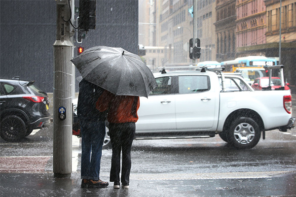 Article image for Sydney water restrictions put on hold after downpour