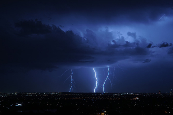 Man dies in freak accident as wild storm tears through Sydney