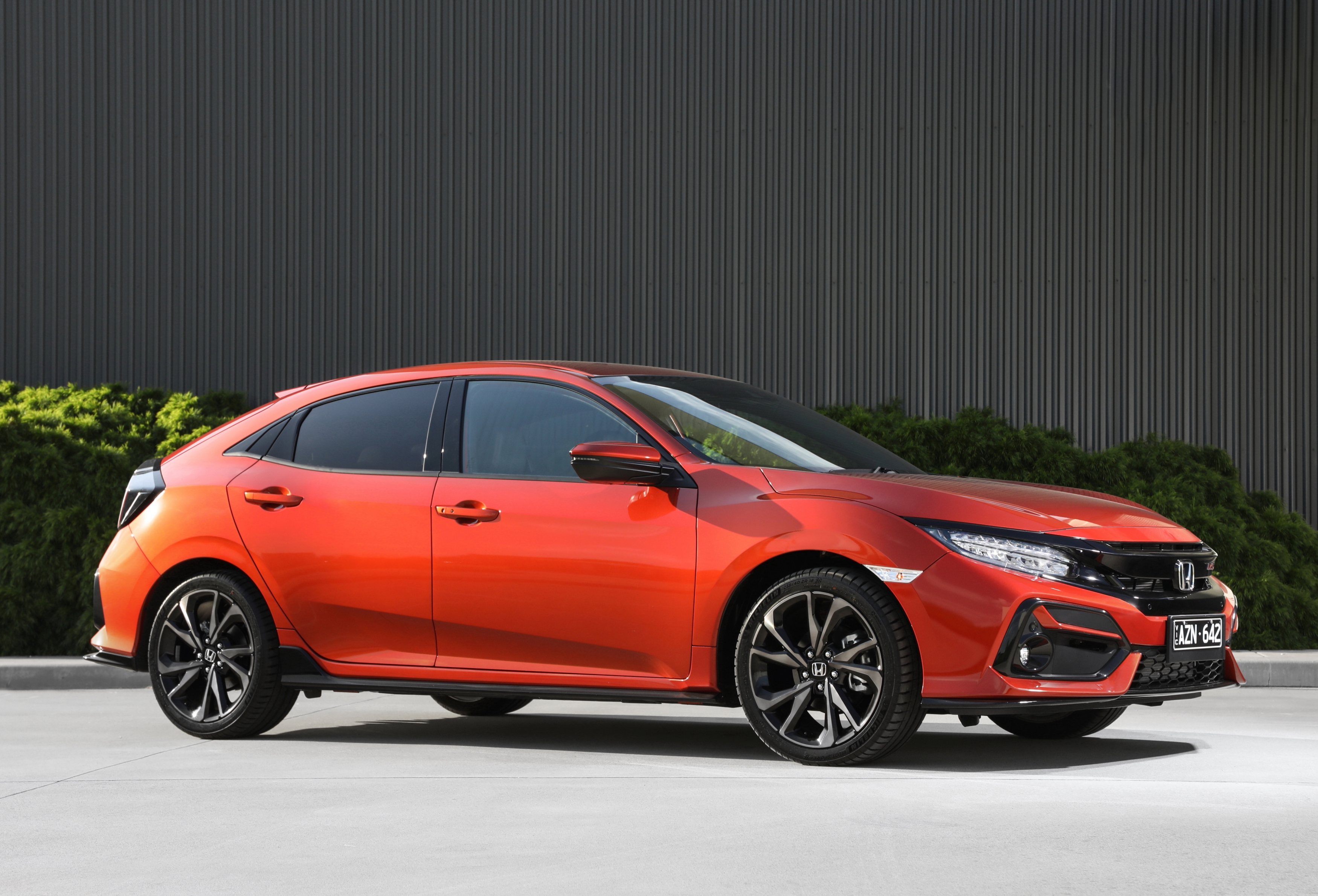 The five-door Honda Civic RS hatch – subtle sports performance with a suite of new safety features