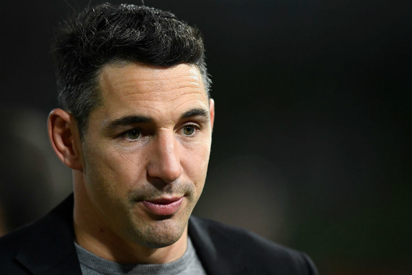 Article image for Billy Slater unsurprised by NRL boss stepping down